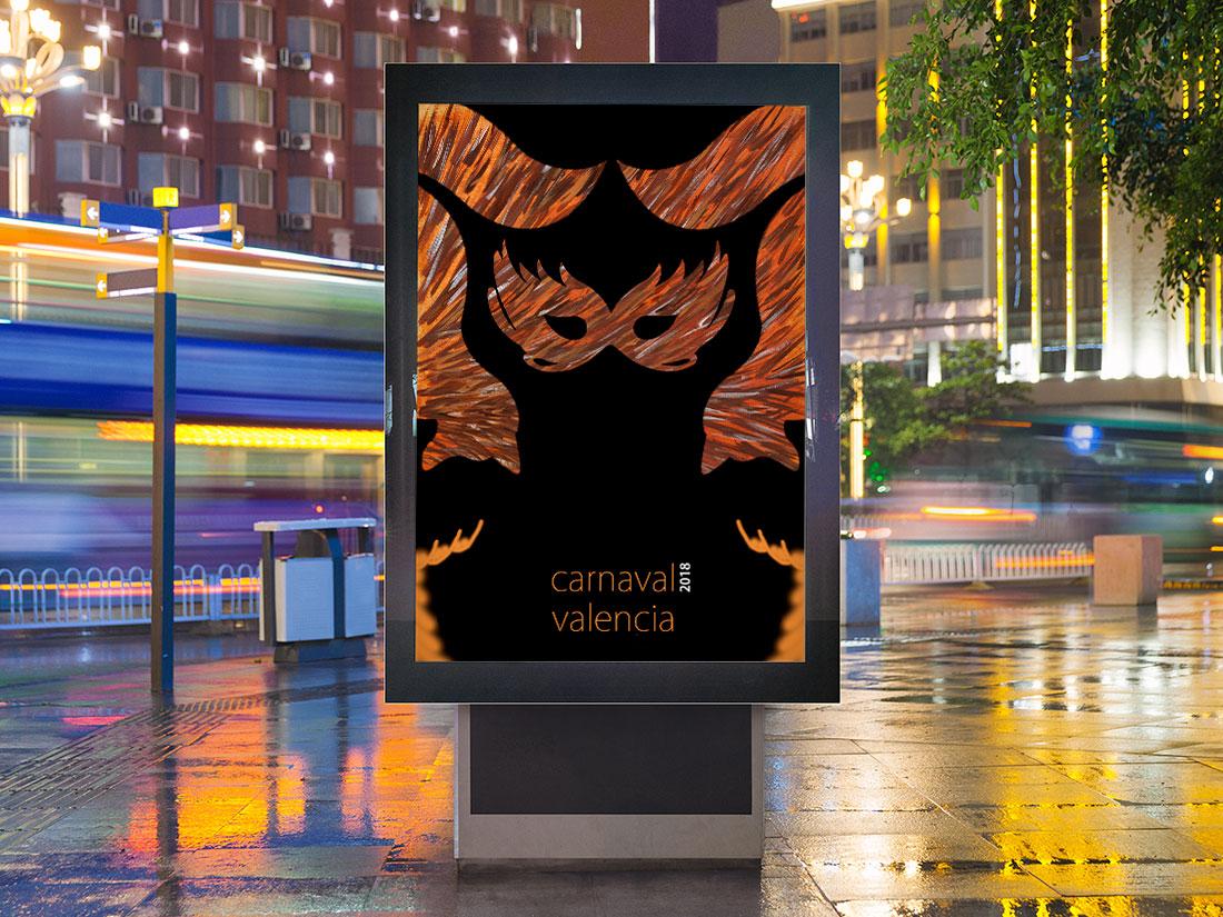 Cartel de carnaval personal