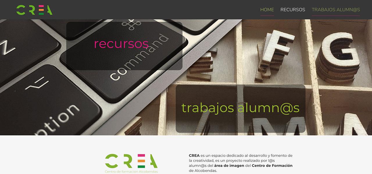 Página web de Crea
