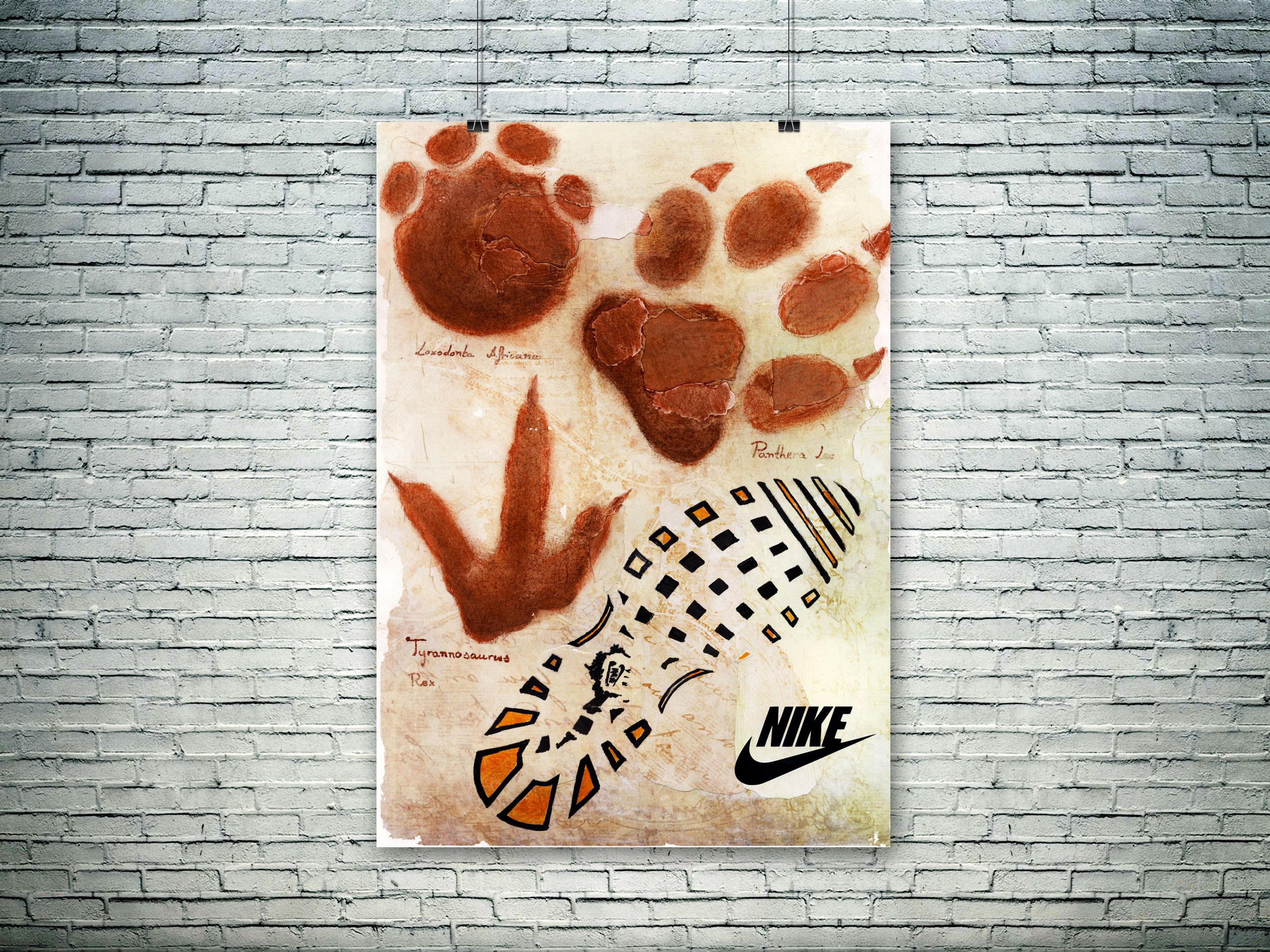 Cartel de Nike